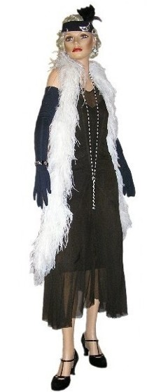 1920s Formal Wear Women 1920's flapper / evening dress