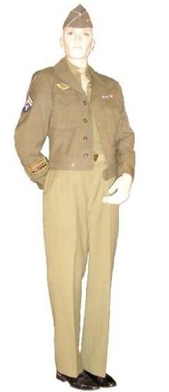1940's WWII Military Uniform